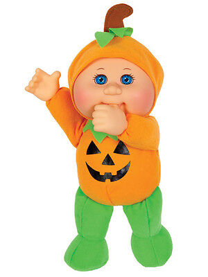 "Cabbage Patch Kids Cuties Doll: 9"" Harvest Helpers Collection - Petey Pumpkin"
