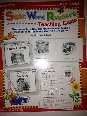 Sight Word Teaching Guide Mini Books Handwriting Practice Kindergarten Grade 1