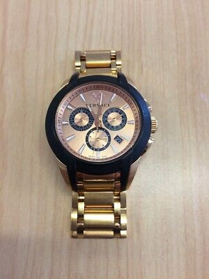 Versace Gold Plated Watch M8C