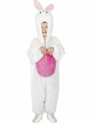 Party Animals White Easter Bunny Rabbit Halloween Costume Child Boys Girls Med - Easter Bunny Costume Child