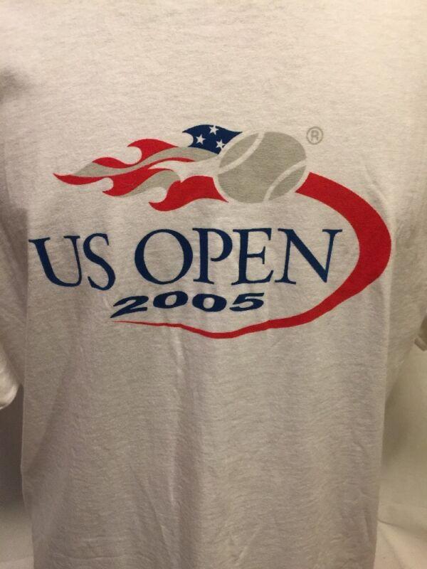 US Open 2005 XL TSHIRT New NWT USTA TENNIS Canon