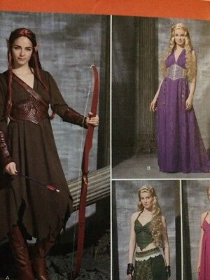 Medieval Female Archer Costume (Simplicity 1010 Costume Pattern 6-14) ~ Elf,Archer, Medieval, Game of)