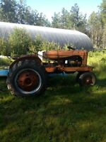 Allis Chalmers Tractor WC Bicycle Style