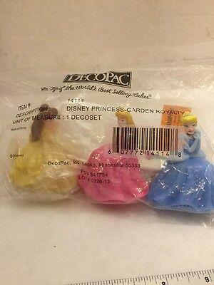 Disney Princess Garden Royalty cake topper decoration kit](Disney Princess Cake Kit)