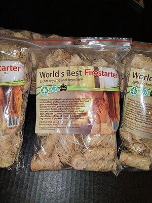 World's Best Fire Starter - Wood Stove, Pellet Stove,