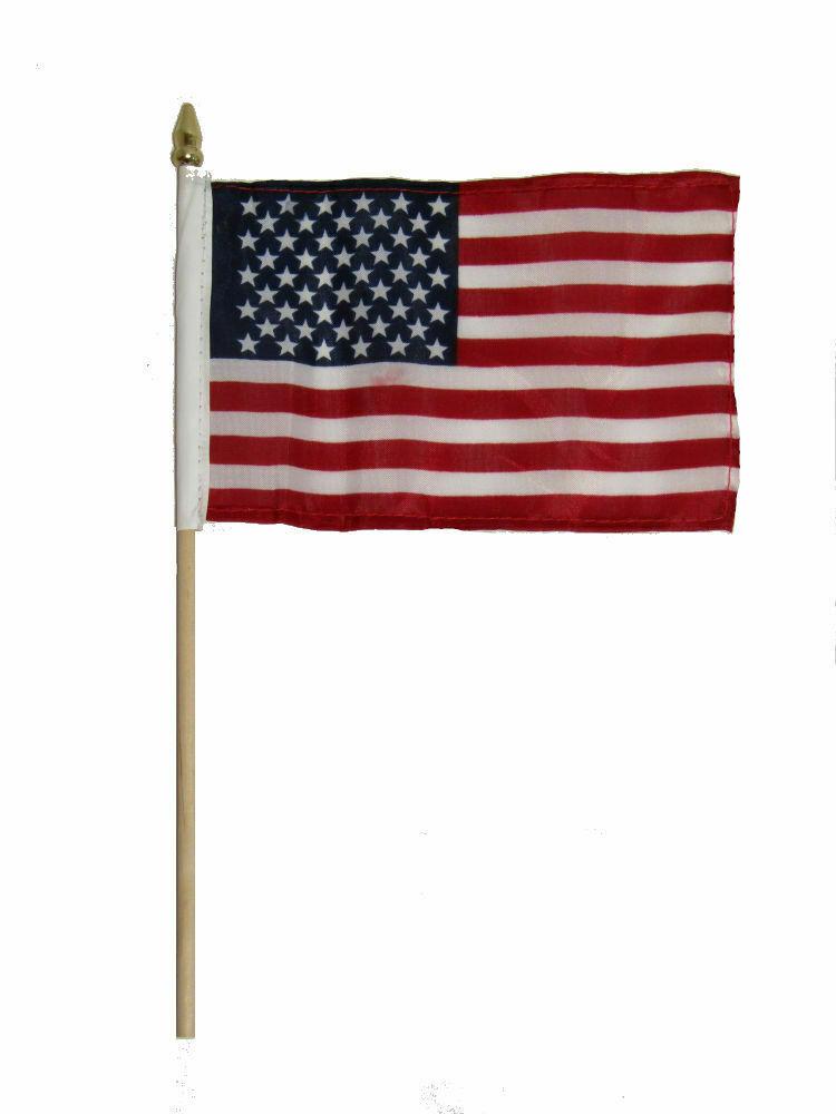 usa american flag 4 x6 desk table