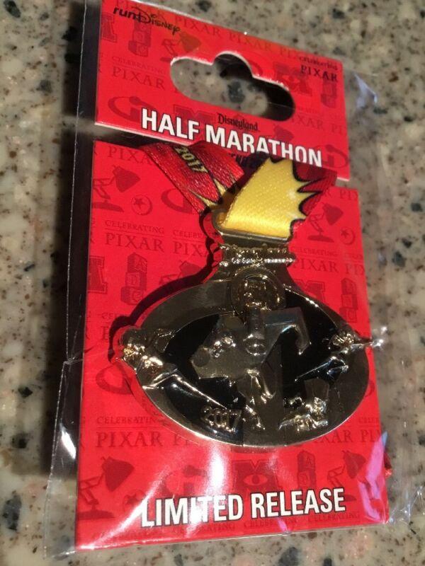 DLR runDisney Pixar Half Marathon Weekend Incredibles 5K Replica Medal Pin