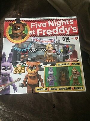 Five Nights at Freddy's The Show Stage McFarlane Construction Set
