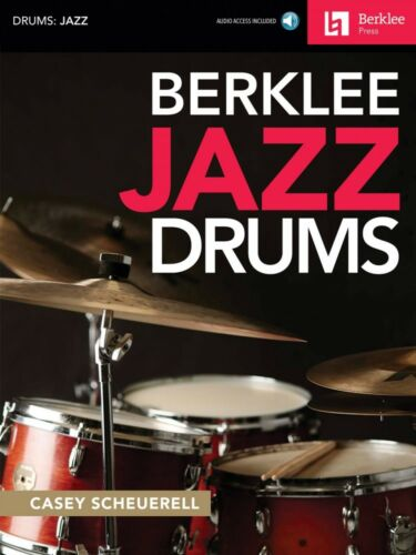 Berklee Jazz Drums Berklee Guide Book and Audio NEW 050449612