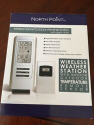 North Point GM8054 Wireless Indoor/ Outdoor Weather Station With Alarm Clock