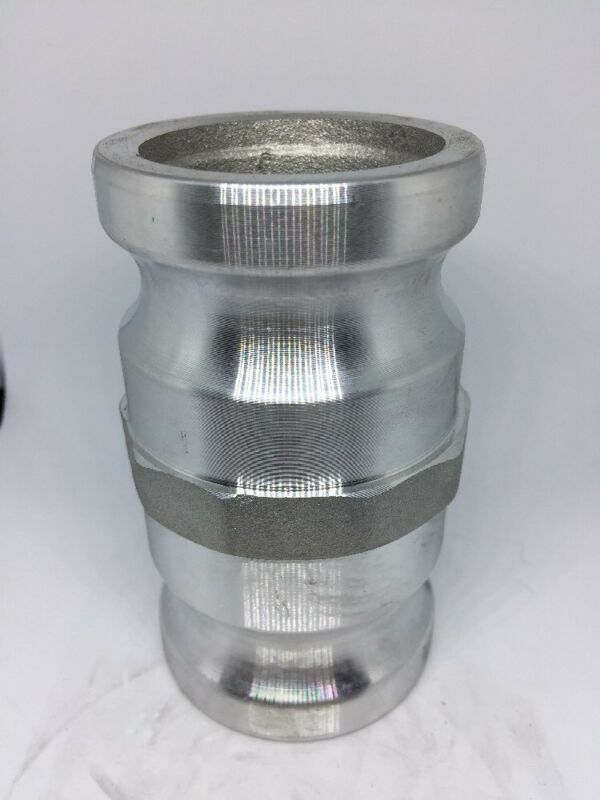"200-AA-AL, 2"" Spool Adapter, Male x Male Cam And Groove Fitting, Aluminum Cam"