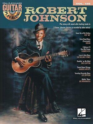 Robert Johnson Sheet Music Guitar Play-Along Book and CD NEW 000702533