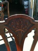 Antique Chippendale dining rm set. Best offer