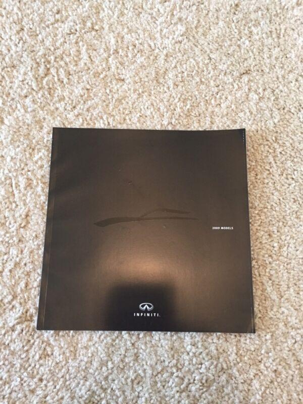 2009 Infiniti Full Line Sales Brochure, G37, M, FX, QX