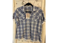 BNWT Cherokee checked shirt size 18