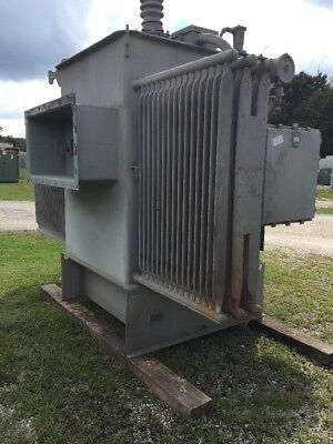 Westinghouse Substation Transformer 1500 Kva Primary 13800 Sec 480y277 Volt