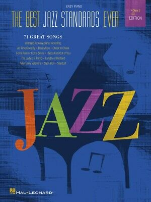 Best Jazz Standards Ever 2nd Edition Sheet Music Easy Piano SongBook
