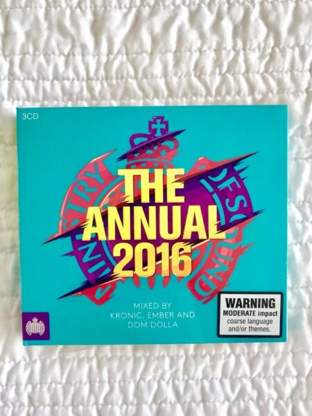 the annual 2016 ministry of sound tracklist