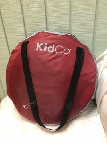 KidCo Peapod, Cranberry & Gray beach travel tent bed