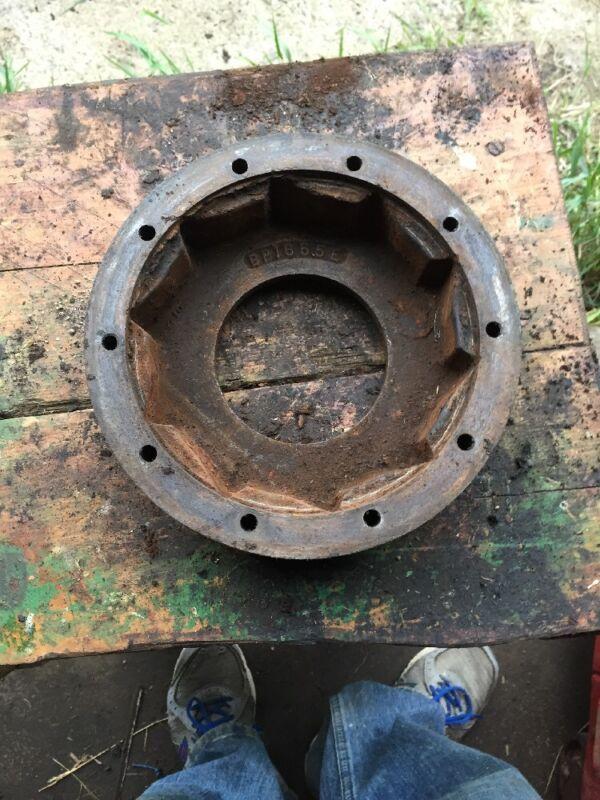 John Deere 14 T Baler Main Slip Clutch Part BP1655E