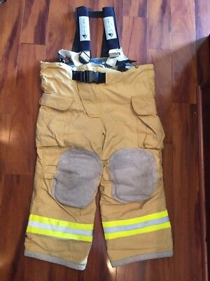 Firefighter Veridian Turnout Bunker Pants 47x25 Costume 2008 Stedair 3000