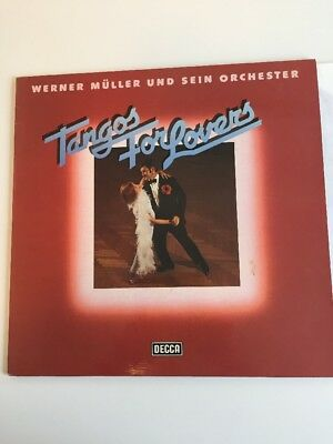 Werner Müller Und Orchester LP Tangos For Lovers