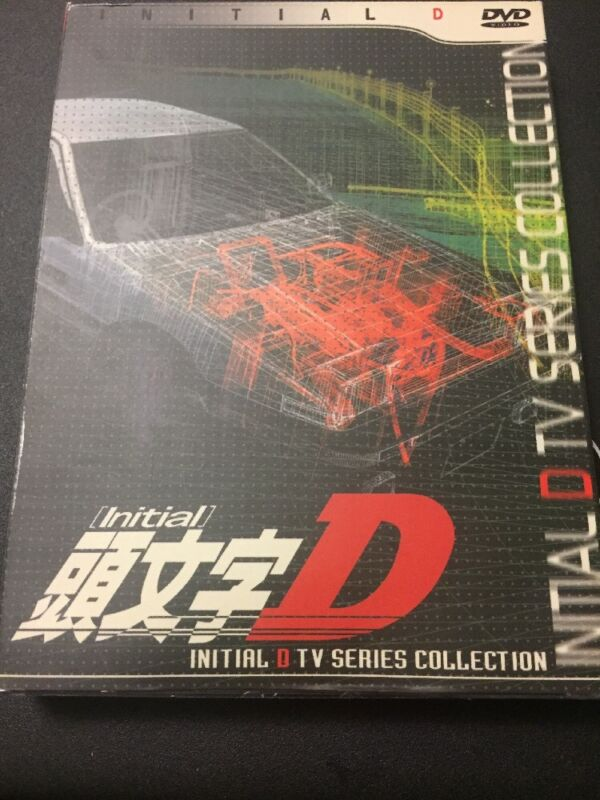 Initial D TV Series Collection DVD (3 disc set) Anime
