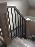 Modernize Wooden Banisters Rails With Beautiful Metal!
