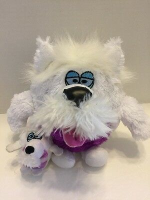 Kookoo Kennel Barking Puppy Dog W/Baby Plush Luv My Pup 2011 Jay At Play White