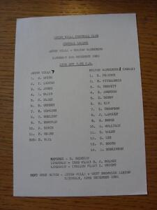 05-12-1981-Aston-Villa-Reserves-v-Bolton-Wanderers-Reserves-Single-Sheet-Scor