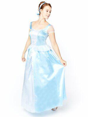 Adult Sweet Princess Cinders Fancy Dress Costume Cinderella Womens Female Ladies