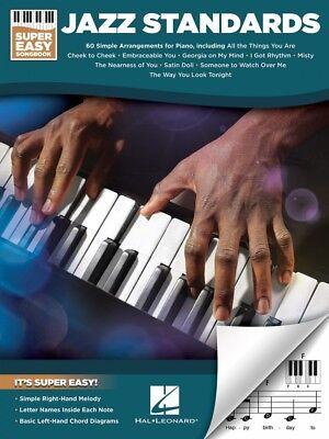 - Jazz Standards Super Easy Songbook Sheet Music Super Easy SongBook 000233687