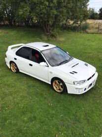 Subaru v3 wrx sti type RA