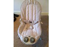 Mamas and Papas Musical Vibrating Rocking Chair
