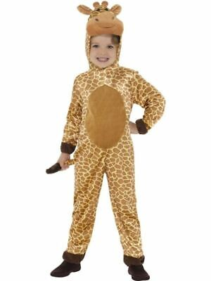 Deluxe Giraffe Halloween Costume Safari Zoo Animal Child Boys Girls SM-LG](Safari Animal Halloween Costume)
