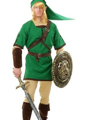 Link Costume Adult or Teen Legend of Zelda Cosplay - L 42-44