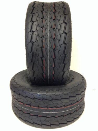 TWO 18.5X8.50-8 HEAVY DUTY TRAILER 6 P.R. Load C Trailer Tire Set 2 18.5 850 8
