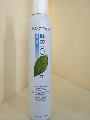 2 CANS Matrix Biolage Styling COMPLETE CONTROL HAIR SPRAY 10 Oz Hairspray ORIG