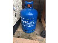 Butane Calor 15kg Gas bottle, used for 1 BBQ so almost full