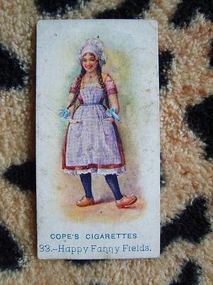Cigarette Card : Cope Bros : Music Hall Artistes (No Quantity) (1913) : No 33