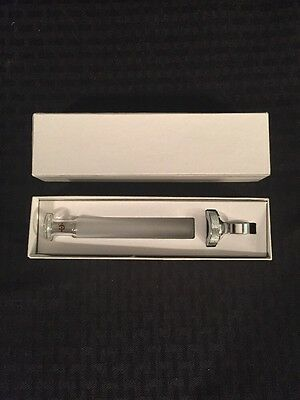 New Marshall Hypodermic Syringe Plunger 10ml Borosilicate Glass Wfinger Ring