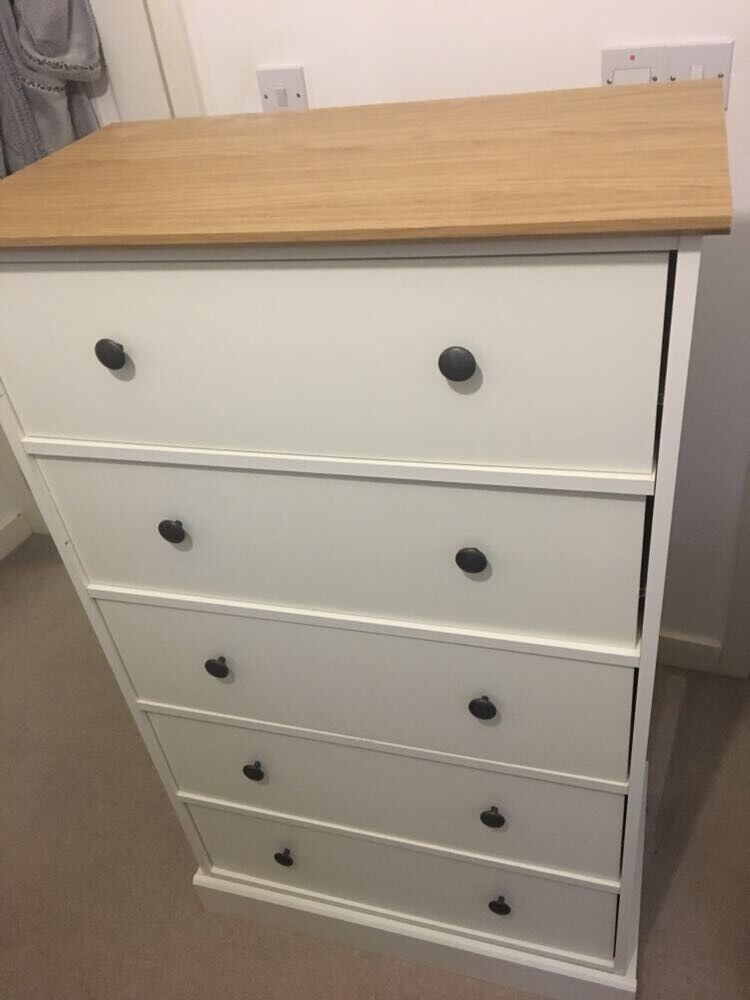 white chest of drawers argos kensington in leicester. Black Bedroom Furniture Sets. Home Design Ideas