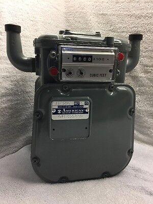 American Meter Gas Meter At-210 Maop 5psi