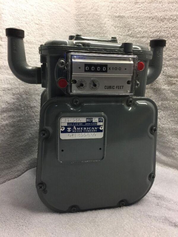 American Meter gas meter AT-210, MAOP 5psi