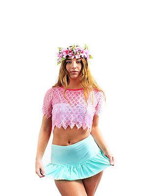 CREATE YOUR OWN MIX MATCH SOLID COLOR 3 PIECE SWIMWEAR BIKINI SET MESH TOP 3 Piece Mesh Bikini