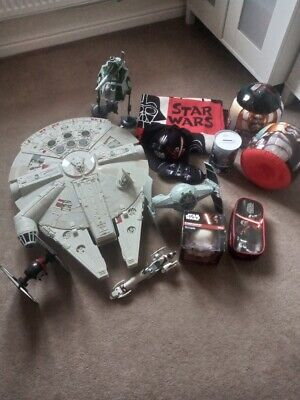 Star Wars Millennium Falcon & other items in bundle