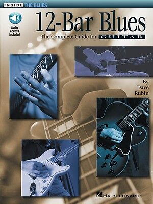 25 Authentic Leads Arranged for Guitar with Tab 000699765 12-Bar Blues Solos