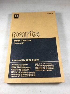 Caterpillar D5b Tractor Parts Book Manual