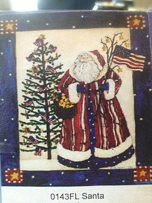 28x40 FALL WINTER AMERICAN Merry Christmas FLAG SANTA CLAUSE Large FLAG