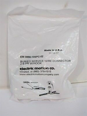 Electric Motion Co. EM 3956-10SPC-02, Buried Service Wire Connector 2-6 PR